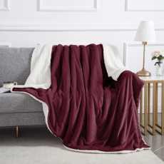 Comforter Blankets for Winter- Doublebed Fleece Blanket- Super Soft Sherpa...
