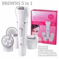 BROWNS BS-2199 ladies hair removing machine shaver epilator threading cutter...