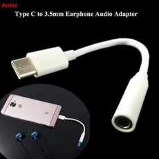 Type C To 3.5 Mm Jack Handsfree Connector / converter / handfree / hand free/...