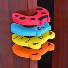 Protection Baby Safety Cute Animal Security Door Stopper Baby Card Lock...