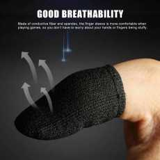 PUBG Non-Slip Thumbs Gloves for playing Games Breathable Mobile Finger Sleeve...