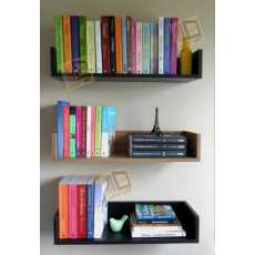 set of 3 book shelves for home and office