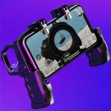 K21 Mobile Game Controller for PUBG /Call of Duty/ Fortnite, Aim Trigger,...