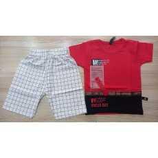 Boys Cotton Dress Shirt and Shorts (Small 1 year, Medium 2 years, Large 3-4...