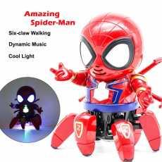 Hero Spider Robot Avengers, Spiderman 6 legs Dancing, Spiderman Robot Music...