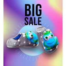 Frog Style Kids Soft Warm Shoes for Home Use Beautiful pattern 2021 New Style...