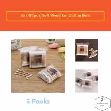 Cotton Buds Pack of 3