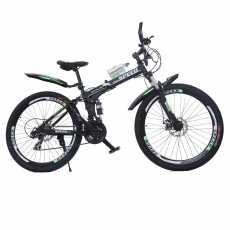 Speed Bicycle 26 Inches Folding Bike Dual Shake with Lock System Alloy RIm...