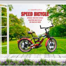 FASTER Bike 20 inches with Gear for Kids - Multicolors