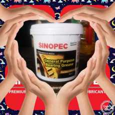 Sinopec bearing grease 1 kg Singapore for axle and bearing greasing