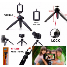 Yunteng YT-228 Mini Tripod Stand With Phone Holder Clip for Digital DSLR...