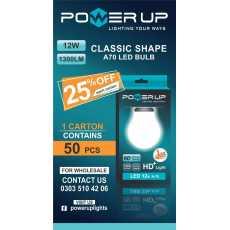 Power up Led Light