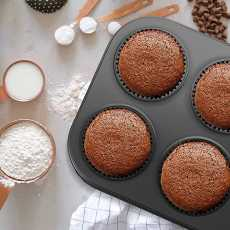 ROHA Non-Stick 6 Cups Standard Muffin Pan, Stainless steel Baking Cupcake...