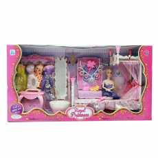 JB TOYS Royal Princess Doll House Complete with Doll for Girls  Doll House...