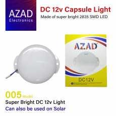 12v DC Round Light 18w