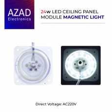 18W LED Ceiling Panel Module Magnetic Light AC220 WHITE