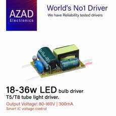 18-36W LED Bulb Driver or 36w Tube light (Quantity10 Piece)
