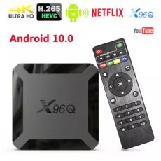Smart Tv Box X96Q Mini Quad Core 2g+16g 4K 60FPS ANDRIOD 10V - Android Smart...