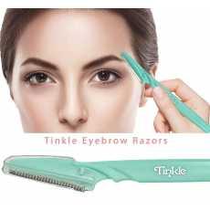 Tinkle Eyebrow Razor Eyebrow Face Hair Removal & Shaper 3 Pack,