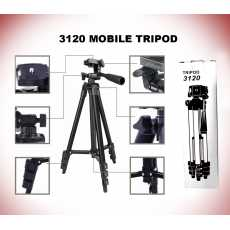 3120 Tripod For Camera And Mobile Best for YouTubers & Tiktok lovers  My Tele...