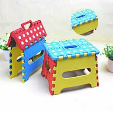 Plastic Folding Step Stool for Adults and Kids Living & Bedroom Stool