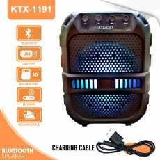Wireless Portable Bluetooth Speaker - Black KTX-1191