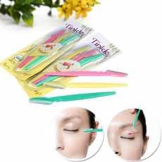 Pack of 3 Tinkle Eyebrow Razor,Facial Hair Remover Eyebrow Trimmer,Sharp Mini...