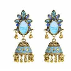Trendy Tassel Jhumka Earrings