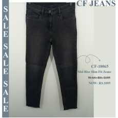 Mid Rise Slimfit Super Stretch Jeans CF-10065