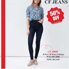 High waist Super skinny D.Navy jeans CF-10098