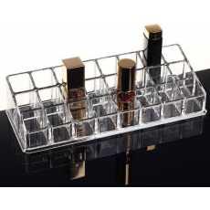 24 Grid Acrylic Makeup Organizer Storage Box Cosmetic Box Lipstick Jewelry...