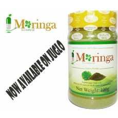 Moringa Oleifera Pure Leaf Extract Powder ( 100 GRAM ) * 100% NATURAL Premium...