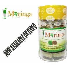 Moringa Oleifera Pure Leaf Extract 60 (750mg) * 100% NATURAL Premium Green...