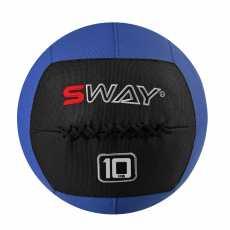 SWAY SLAM BALLS BLUE BLACK 10KG, WALL BALL, MEDICINE BALLS, CORE STRENGTH,...