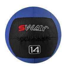 SWAY SLAM BALLS BLUE BLACK 14KG, WALL BALL, MEDICINE BALLS, CORE STRENGTH,...
