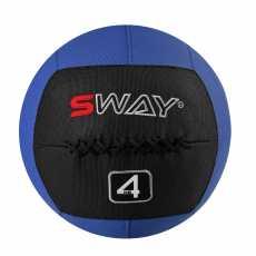 SWAY SLAM BALLS BLUE BLACK 4KG, WALL BALL, MEDICINE BALLS, CORE STRENGTH,...