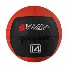 SWAY SLAM BALL RED 14KG, WALL BALL, MEDICINE BALLS, CORE STRENGTH, FITNESS,...