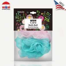 WBM Care Soft and Gentle Bath Ball & Shower Sponge Bath Ball Loofah -  Aegean...