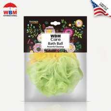WBM Care Soft and Gentle Bath Ball & Shower Sponge Bath Ball Loofah -  Nostalgia