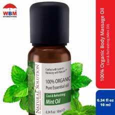 Natural Solution Organic Body Massage Oil (Mint) - 10 ml