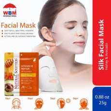 Natural Solution Intensive Repair Silk Whitening Facial Mask - facial mask -...