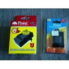 Canon Battery and Charger Set LP-E17 Canon EOS M3 M5 M6 77D 200D 750D 760D 800D