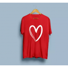 women trendy t-shirt with heart print on it comfortable Export Quality soft...