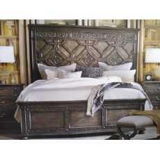 PURE WOOD CHINIOTI BED SET