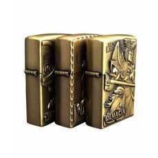 Bronze Cigarette Lighter Pack of 3