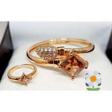 Adjustable Bracelet and Ring for girls