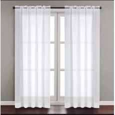 Curtain shafoon 2 panel werth 54 Length 96