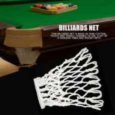 6 Pcs Billiards Pool Snooker Table Cotton Nets Pockets Billiard Accessory