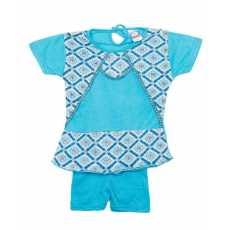Auto Zone - MultiColour - Cotton, 2 PC Suit for Baby Girls (0-3 Months)