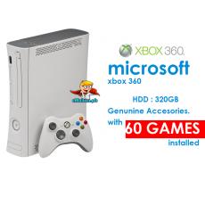 Xbox 360 – 320GB – 60 Games Jailbreak – Wireless Controller